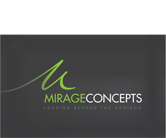 Mirage Concepts Stationery and Logo